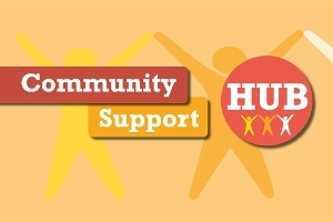An image relating to Asking for help from our Community Hub